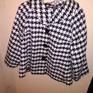 Willi Smith Hounds Tooth Jacket